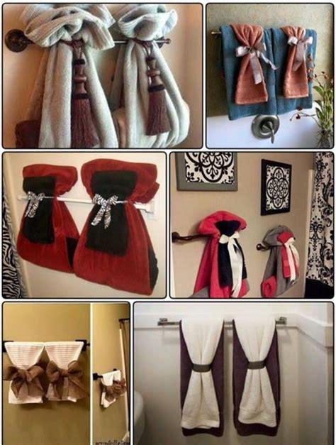 bathroom towel ties home decor   bathroom towel