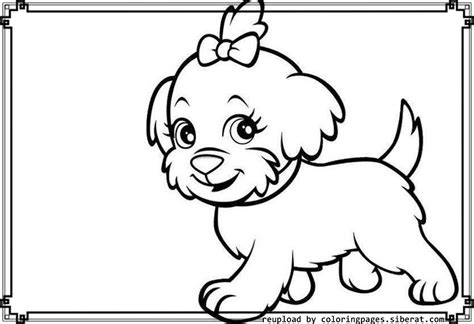 little puppy coloring pages coloring home
