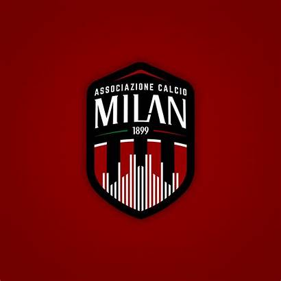 Milan Football Logos Behance Rebranded Jerseys Soccer