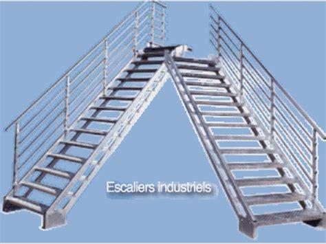 escalier acier galvanise prix escalier droit industriel contact bombrun les escaliers du vernosc