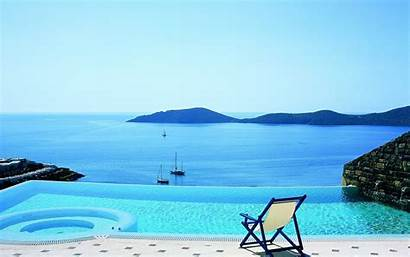 Infinity Pools Pool Summer Wallpapers India Andscapes