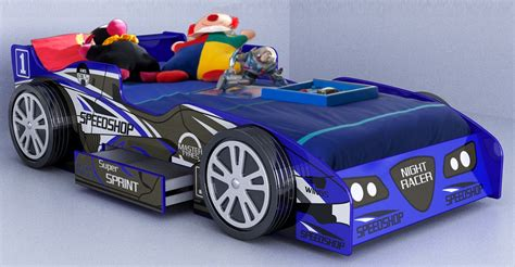 Fun Bedroom Ideas for Toddlers with Car Beds Which Will