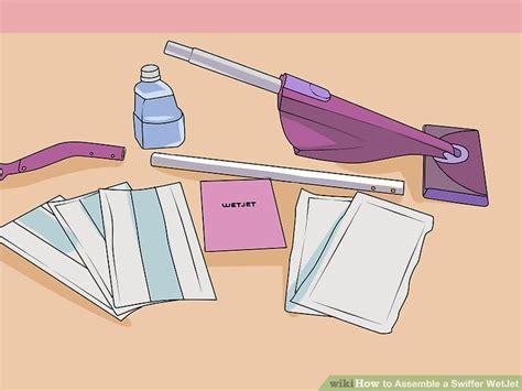 easiest   assemble  swiffer wetjet wikihow