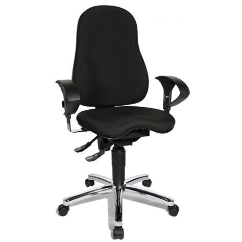 sitness 10 black fabric ergonomic office chair si59ug20e