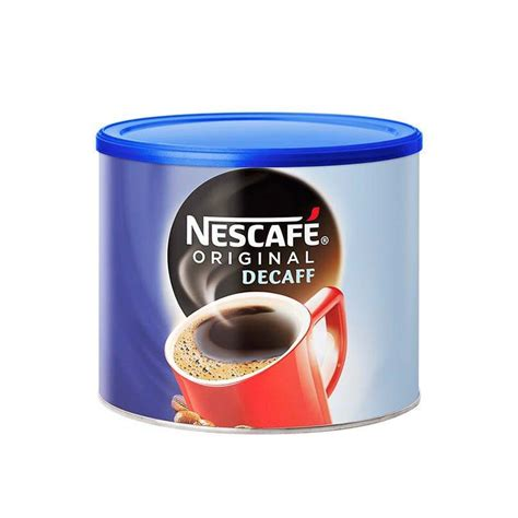 What are the side effects of decaf coffee? Nescafe Original Decaf Instant Coffee - 500g Tin
