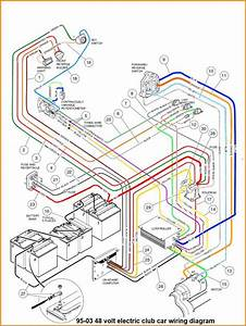 10 Club Car 48 Volt Battery Wiring Diagram Ignition New Golf Cart