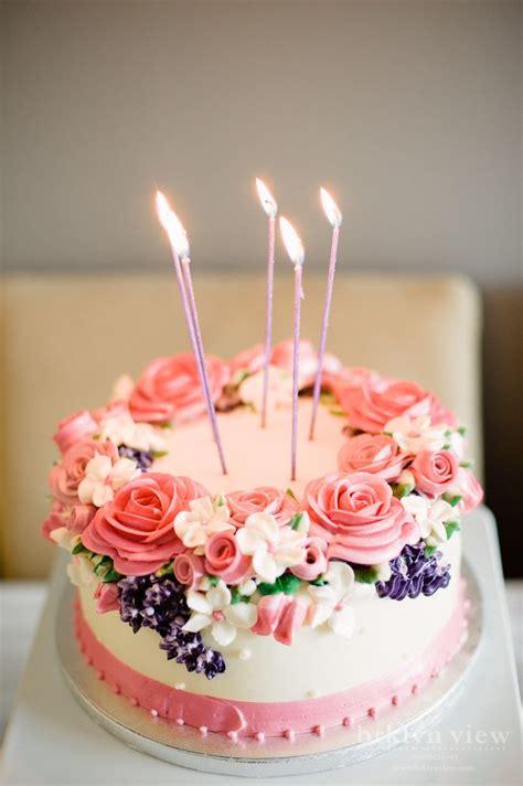 ideas  flower birthday cakes  pinterest