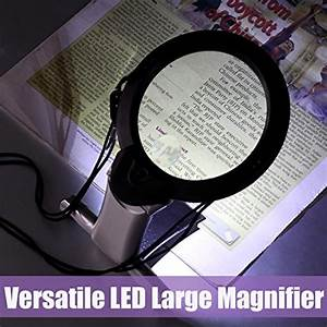 Where Light Glasses Review Hands Free Lighted Reading Magnifier Dicfeos Extra Large