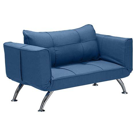 Sea Sofa Trace Modern Blue Loveseat Sleeper Eurway Furniture