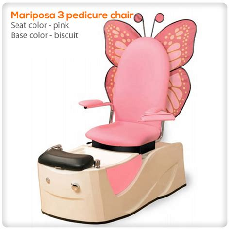 mariposa iii spa pedicure chair spasalon us