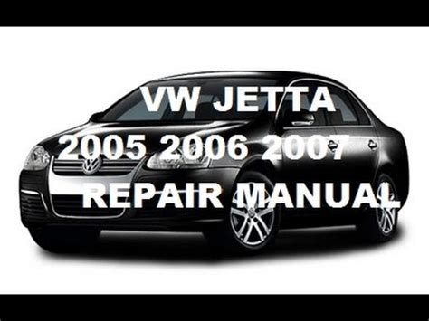 volkswagen jetta    repair manual youtube