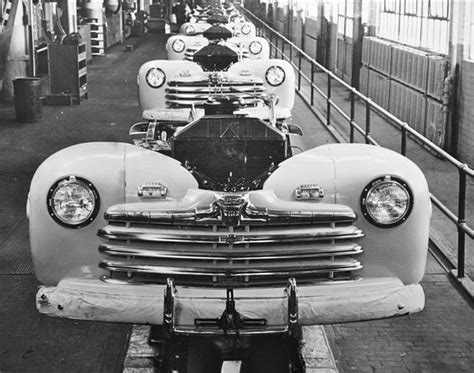 The Ford Motor Company's Final Assembly Line At The River