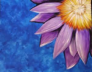 Flower Purple Paint