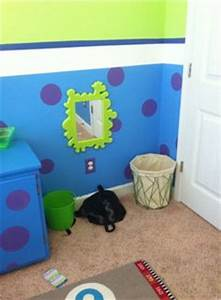 monster bedroom on pinterest monsters inc bedroom With monsters inc wall decals for kids room