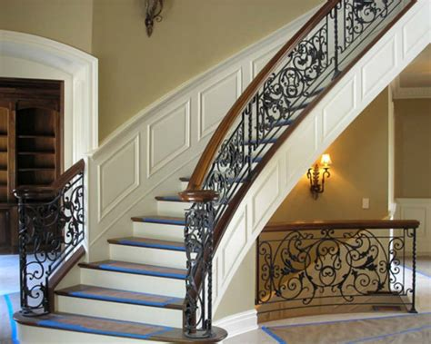 wrought iron stair railings interior choosing a wrought