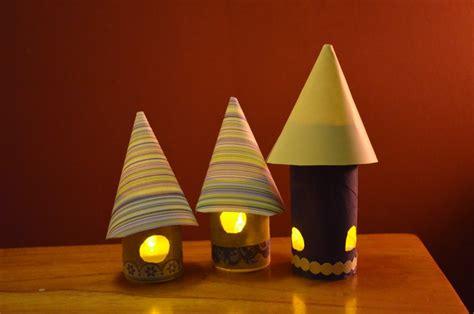 fairy house night lights  kid craft