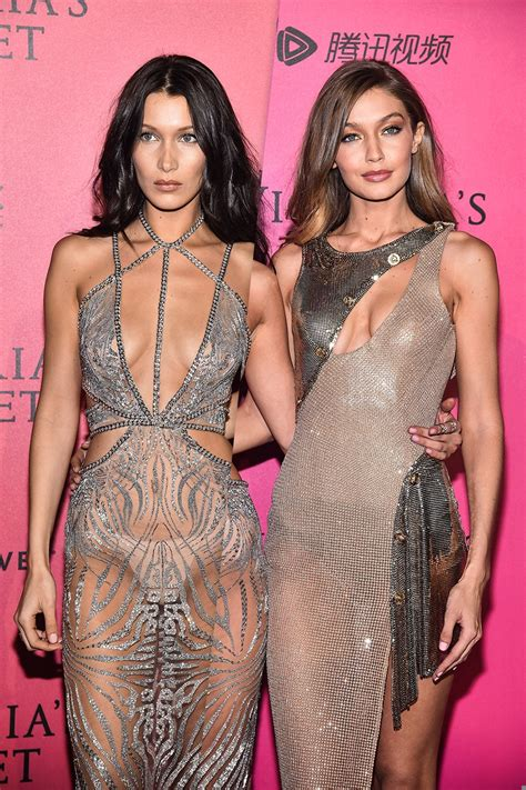 Gigi and Bella Hadid Play the Social-Media Game in ...