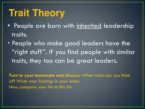 leadership theories powerpoint