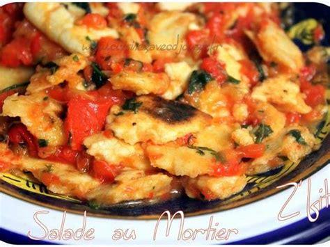 cuisinez avec djouza recettes de salade au mortier de cuisinez avec djouza