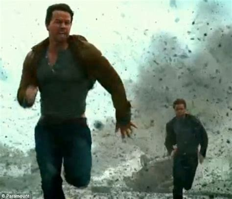 wahlberg forced to run for his as transformers