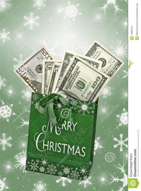 christmas cash royalty  stock photo image