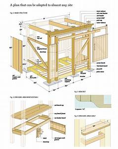 Free Woodworking plans free bench Project shed
