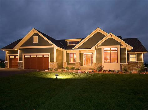 craftsman house plans with basement lovely house plans with walkout basements 4 craftsman