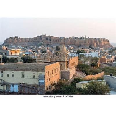Jaisalmer Fort India Stock Photos &