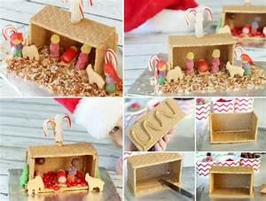 Zuckerguss Für Lebkuchenhaus : lust zu basteln wie w re es wenn sie eine krippe basteln ~ Lizthompson.info Haus und Dekorationen