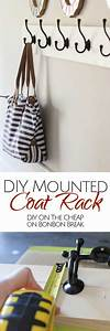 25 best ideas about wall mounted shoe rack on pinterest With wall hook rack moms solution for the house