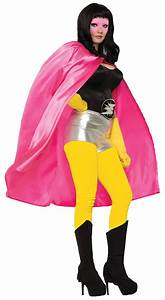 Adult Super Hero Costume Cape Men Women Halloween Villain ...