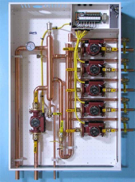 primary secondary hydronic panel    loss