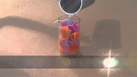fabrication d une bougie avec des crackers de cire