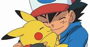 Ash and Pikachu hugging and cuddling | Ash and Pikachu ...