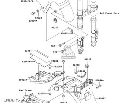 kawasaki zx1200a1 zx12r 2000 usa california canada parts lists and schematics
