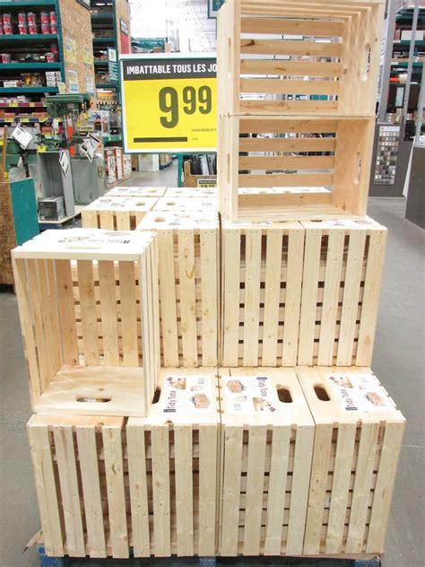 ou trouver des caisses de bois pour sa deco deconome