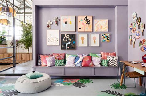 deco cuisine bleu tendance décoration colorée pour salon made in meublesle déco de made in meubles