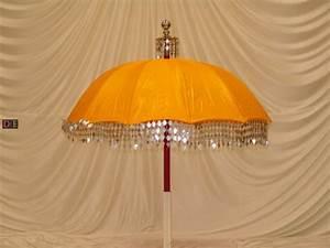Yellow/Gold Decorative Umbrella