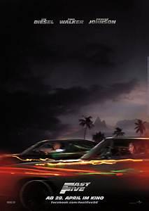 Filmplakat  Fast  U0026 Furious Five  2011