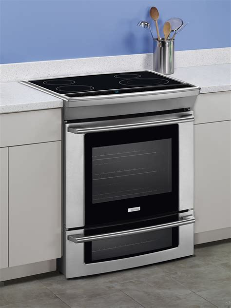 electrolux wavetouch electrolux ew30is65js 30 quot slide in induction range with 4