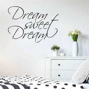 Wandtattoo Sweet Dreams : wandtattoo spruch dream sweet dream ~ Whattoseeinmadrid.com Haus und Dekorationen