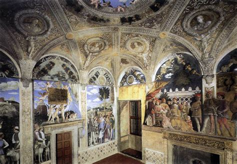 la chambre des trompe l oeil andrea mantegna history the of