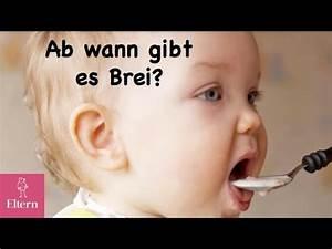 Ab Wann Baby Bettdecke : ab wann darf mein baby brei bekommen eltern online youtube ~ Bigdaddyawards.com Haus und Dekorationen