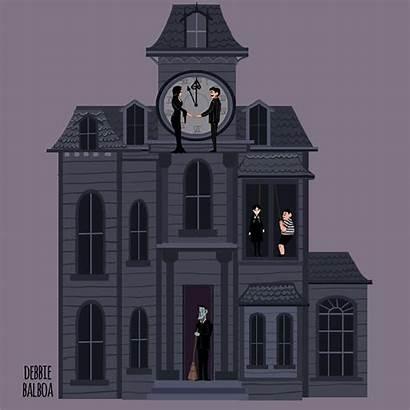 Addams Wednesday Sketch Debbie Adams Morticia Cartoon