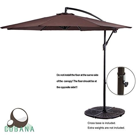 best cantilever umbrella reviews 2017 top for the