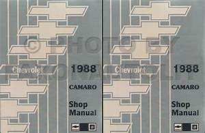 1988 Chevy Camaro Repair Shop Manual Original