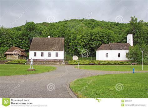 maison de naissance de nikola tesla image stock image 36856571