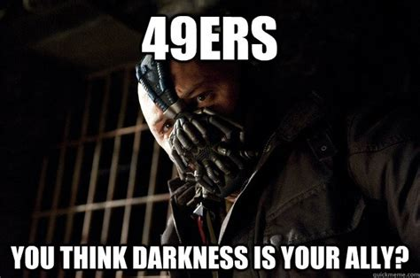 Anti 49ers Meme - when thanksgiving is over you have my permission to listen to christmas music angry bane