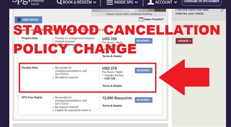 Starwood Best Flexible Rate Blanket Cancellation Policy Change Effective January 15, 2015 Fire Proof Blankets And Beyond Nunu Bear Twin Microplush Blanket Soft Heavy Throw In Bulk Sewing A Receiving Wilsun Horse Hooded For Baby