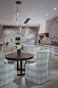 Eclairage Salon Sejour : ambiance cosy par le luminaire led dans une cuisine moderne design feria ~ Melissatoandfro.com Idées de Décoration